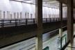 Estação Ana Rosa de metrô, linha 1, São Paulo. Marcello Fragelli (coordenador) e equipe de arquitetos<br />Foto Nelson Kon