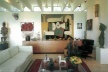 El estar de la Casa Bunshaft<br />Foto: Adam Bartos