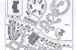 Figura 03 – Diagrama elaborado por Andrés Duany e Elizabeth Plater-Zyberk mostrando na parte superior do desenho o caso da ocupação dispersa e na parte inferior o modelo do desenvolvimento tradicional retomado pelo Novo Urbanismo [P. Katz, Livro The New Urbanism, 1994]