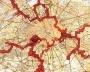 Nenhum mapa pode ser lido desapaixonadamente.Constant, New Babylon Paris [Paris Nova Babilônia],1963. Haags Gemeentemuseum [Andreotti, Libero e Xavier Costa, (ed.). Situationistes; art, política, urbanisme. Barcelo]