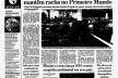 Matéria sobre a Eco-92 no dia seguinte à abertura, <i>Folha de S.Paulo</i>, 04 jun. 1992<br />Imagem divulgação