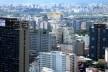 Parque Anhembi visto a partir do centro de São Paulo<br />Foto divulgação  [Wikimedia Commons]