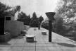 Vista de la cobertura de la casa [Revista Nuestra Arquitectura N8, agosto 1947]