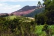 Degradação ambiental provocada pela mineração<br />Foto/Photo Fabio Lima