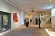 Acesso principal à exposição <i>How sould we live? Propositions for the Modern Interior</i> em cartaz no Moma<br />Foto Sabrina Fontenele