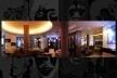 Panorâmica do saguão de entrado do Hotel Hard Day's Night<br />Foto Victor Hugo Mori