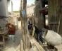 Foto do corredor de acesso à casa<br />Foto El Ceibo