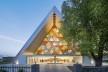 Catedral Cardboard, Christchurch, Nova Zelândia, 2013. Arquiteto Shigeru Ban<br />Foto Stephen Goodenough