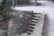 Fig. 7 - Trecho da via superior com largo conectando a pista à escada drenante