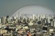 Cúpula em São Paulo<br />Fotomontagem de Abilio Guerra sobre foto de Nelson Kon