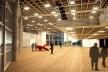 Centro de Referência em Empreendedorismo do Sebrae-MG, hall multiuso, 2º lugar. Arquiteto Francisco Spadoni, 2008<br />Desenho escritório