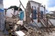 Mesma casa, no dia do desmoronamento<br />Foto Luís Magnani