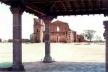 Ruinas da Igreja vista do Museu das Missões<br />Foto Ricardo Rocha