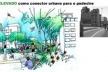 O Eco-elevado como conector urbano para o pedestre<br />Imagem do autor do projeto