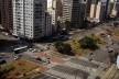 Oficina de desenho urbano MCB, confusão viária da avenida Faria Lima na confluência com a avenida Cidade Jardim, São Paulo, 2011<br />Foto Camila Dias e Gustavo Mascarenhas