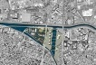 Planta da reurbanização na confluência dos rios Tietê e Tamanduateí