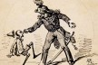 """Enrico Mazzanti, ilustração original para """"A aventura de Pinocchio"""", romance de Carlo Collodi, 1881<br />Imagem divulgação"""