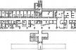 Figure 2 – Plan 1e Etage, Nouvelle Annexe , Hôpital Gastroclínicas, São Paulo, Brésil [Revista Projeto, 176, 1994, p57]
