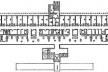 Figure 3 – Plan 2e Etage, Nouvelle Annexe, Hôpital Gastroclínicas, São Paulo, Brésil<br />Lauro Miquelini  [Revista Projeto, 176, 1994, p57]