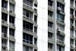 Conjunto de edifícios afastados das divisas sem varandas, Rio de Janeiro, início da década de 1970<br />Foto Andréa Redondo