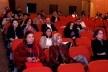 Participantes do evento assistindo a Sessão de Comunicações Casas (II), no auditório Thomas Morus<br />Foto Michelle Schneider