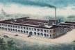 Cartão publicitário da fábrica de chapéus Ramenzoni, c.1920<br />Imagem divulgação