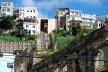 Centro Histórico de Salvador, aspecto de casarões, ruínas e o plano inclinado<br />foto Fabio Jose Martins de Lima