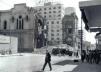 Igreja do Rosario em Demolicao, V8, 1956<br />Foto arquivo V8, Centro de Memoria da Unicamp