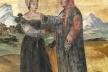 Laura di Sade e Francesco Petrarca (c. 14-19)<br />Autor anônimo  [Wikimedia Commons]