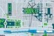 Concurso para reurbanização de Le Halles, Paris. Projeto de OMA / Rem Koolhaas  [Projet Les Halles]