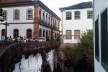 Ao lado da Casa dos Contos, ponte de pedra sobre o Vale dos Contos<br />Foto Abilio Guerra