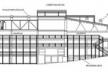 Teatro Oficina, corte 1 do projeto de Lina e Elito [Escritório Arquiteto Edson Elito]