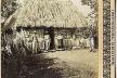 Foto estereoscópica de bohío, en Cuba. H.C. White Co. 1901. [Arquivo Cedodal]