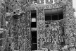 Casa del arquitecto Juan O'Gorman en el Pedregal de San Angel (demolida)<br />Foto Martín Alvarado Lara  [Arquivo Cedodal]