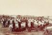 Plaza Consitución, Buenos Aires, 1890. Donación del CAC (Chile)<br />Foto de A. W. Boote  [Arquivo Cedodal]