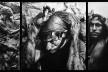 """""""O inferno de Bosch segundo Sebastião Salgado"""", tríptico 8, fragmentos da exposição fotográfica """"Gold – Mina de Ouro Serra Pelada""""<br />Fotomontagem de Abilio Guerra"""