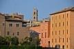 Contrastes, tempos diferenciados, patrimônio edificado no centro urbano de Roma<br />Foto Fabio José Martins de Lima