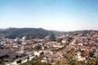 Vista Parcial da Área Urbana. A partir da esquerda: Centro, Estrada de Ferro, Núcleo Colonial [Acervo do Museu de Ribeirão Pires]