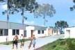 Vista da rua. Concurso Habitação para Todos CDHU.Casas escalonadas-Menção honrosa.<br />Autores do projeto  [escritorio premiado]