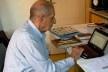 Roberto Segre, reunião para edição do livro sobre Palácio Capanema, Niterói, 2012<br />Foto Silvana Romano Santos