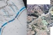 Recuperando o caminho das águas. Modelo tridimensional da região do parque e mapa da àrea