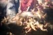Sebastián Esteban Murillo, O Jubileu de Porciúncula, 1665-1666, em exibição temporária no Museu de Belas Artes de Sevilha<br />Foto José Lira  [Acervo do Wallraf-Richartz Museum de Colônia]