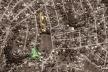 Vista aérea - Praça da Gama e E. M. Darcy Ribeiro<br />Imagem dos autores do projeto