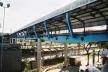 Terminal Rodoviário de Santo André. Detalhe da passarela sobre a estrada de ferro [Acervo da autora, 2003]