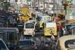 Enquanto isso perdemos um potencial tempo produtivo presos em congestionamentos<br />Foto Canindé Soares