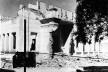 Hotel Francano demolido pelo Banco Itaú em 1981<br />Foto Maria Marta R. A. Silveira