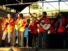 Folia de Reis se apresentando no Festival Gastronômico em São Luiz do Paraitinga, 2005 [www.paraitinga.com.br]