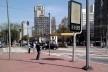 Oficina de desenho urbano MCB, interferências verticais: postes de fiação elétrica, relógio, iluminação, São Paulo, 2011<br />Foto Fabio Dias e Luiz Gustavo Sobral