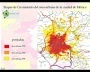 Etapas de Crescimento da área urbana da Cidade do Mexico