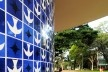 Igreja Nossa Senhora de Fátima, projeto de Oscar Niemeyer e painel de azulejos de Athos Bulcão, Brasília DF Brasil<br />Foto Tony Winston/Agência Brasília  [Wikimedia Commons]